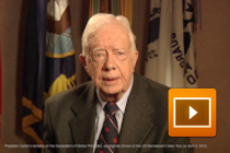 Video Message to DoGP Launch Attendees from President Carter